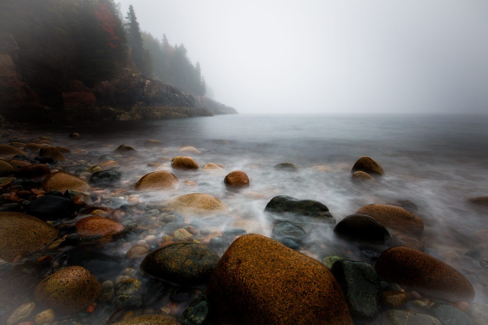 acadia hunter beach